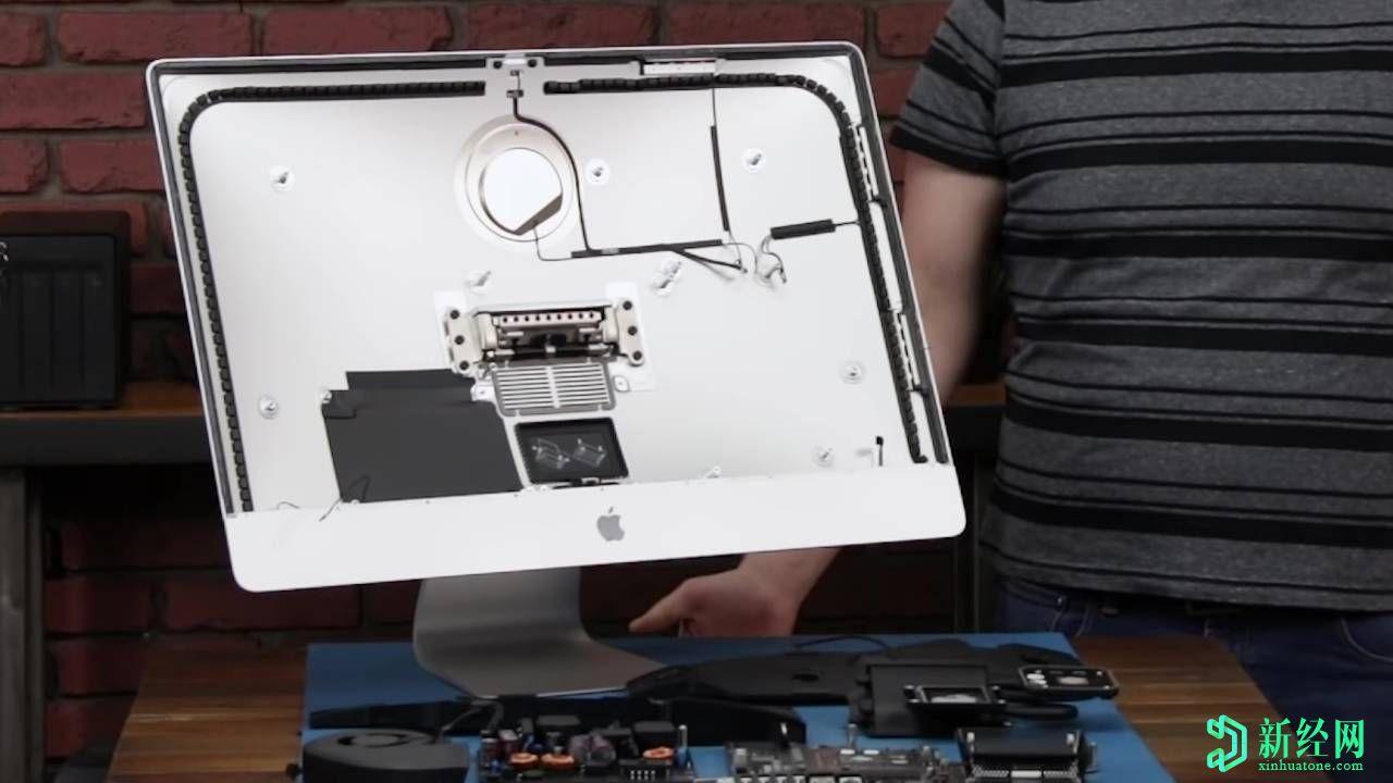 2020年的27英寸iMac拆解揭示了内部的空白