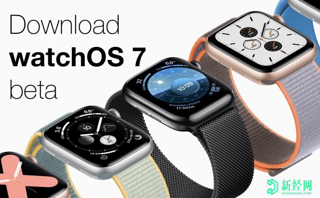 watchOS 7 Public Beta发布-以下是如何在兼容的Apple Watch上下载