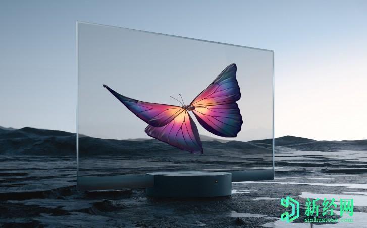 小米宣布推出全球首款量产的透明电视Mi TV LUX OLED透明版