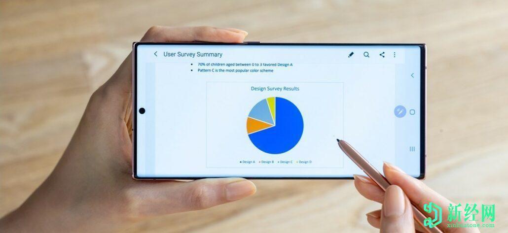 Galaxy Note 20 Ultra是首款搭载三星新型VRR OLED显示屏的手机