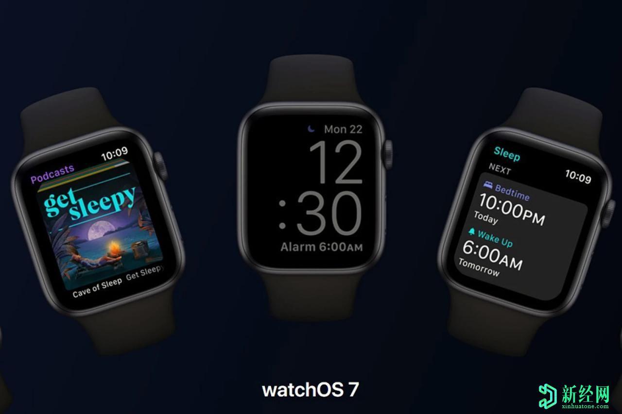 如何在苹果 Watch上安装watchOS 7 beta并测试睡眠跟踪功能