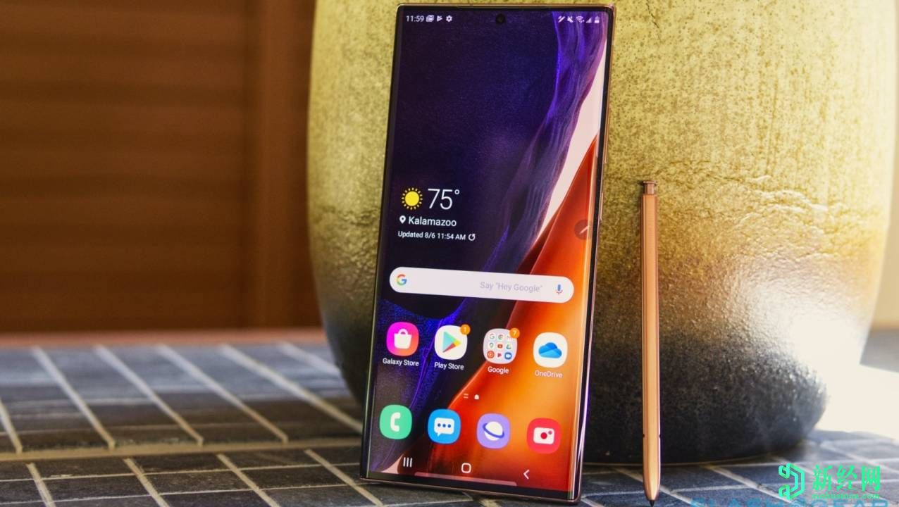 三星Galaxy Note 20 Ultra Adaptive Frequency屏幕可以降至10Hz以节省电量