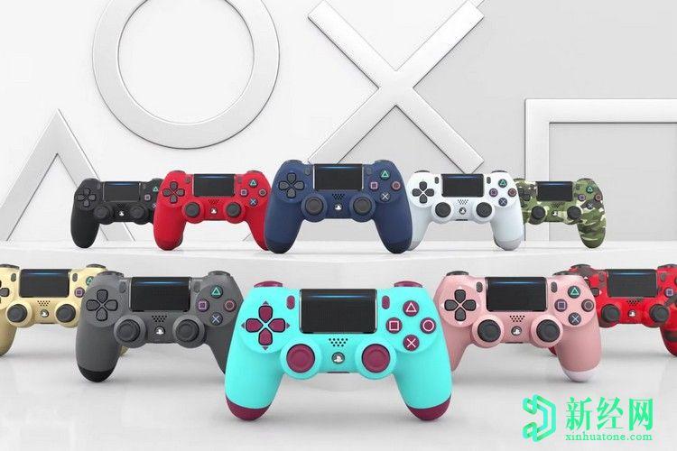 索尼为其DualShock 4控制器带来流行的色彩