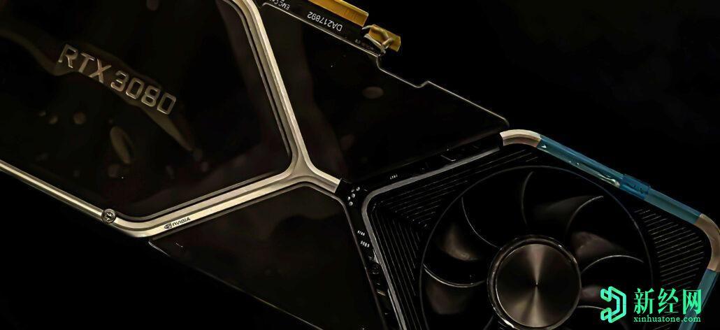 英伟达的RTX 3080显卡配备2.1 GHz GPU和GDDR6X显存