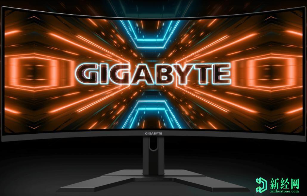 技嘉宣布推出G34WQC曲面超宽游戏显示器-支持144Hz刷新率