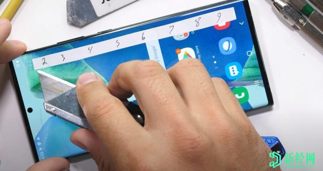 三星Galaxy Note 20 Ultra出色地通过了耐久性测试