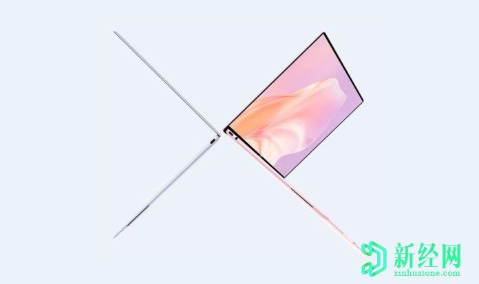 华为MateBook X 2020宣传海报显示笔记本电脑至少有两种颜色
