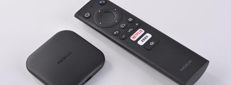 诺基亚Media Streamer Android电视盒在印度推出,价格为₹3,499(〜$ 46)