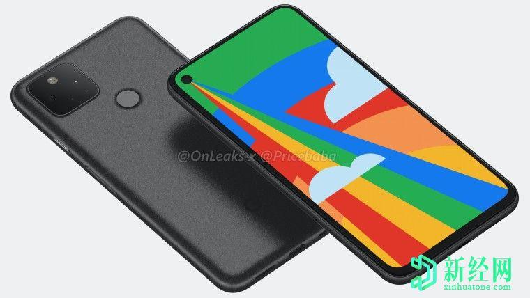 泄漏的谷歌 Pixel 5规格指向Snapdragon 765G,8GB RAM和大电池