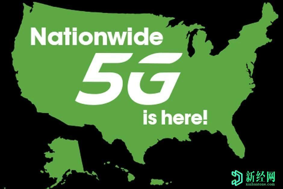 """另一家美国运营商推出了""""全国性"""" 5G网络"""