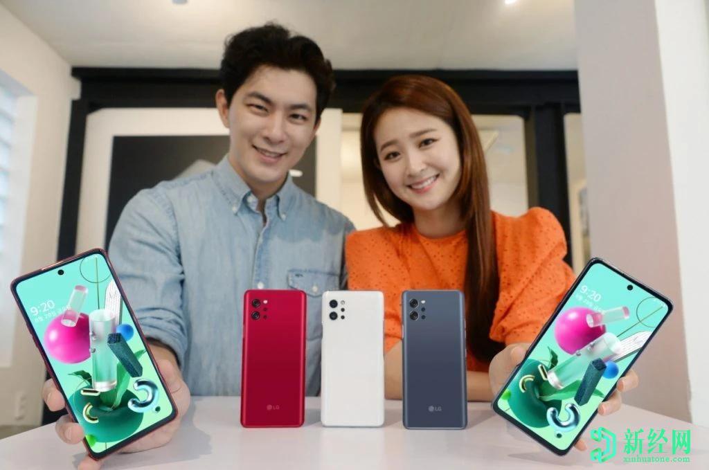 LG推出具有极具竞争力价格的中档5G智能手机