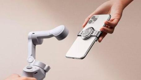 新款大疆Osmo Mobile 4具有更强的电机和磁性手机支架