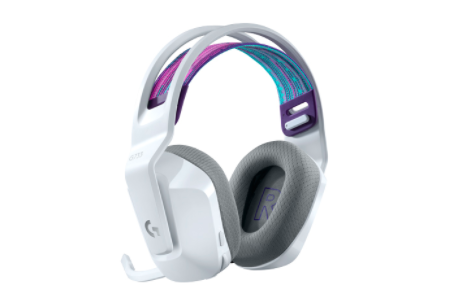 罗技推出新的黑白G733 Lightspeed无线耳机