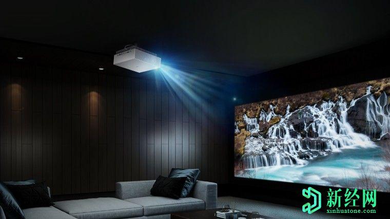 LG推出支持HDR和97%DCI-P3覆盖率的新型4K投影仪