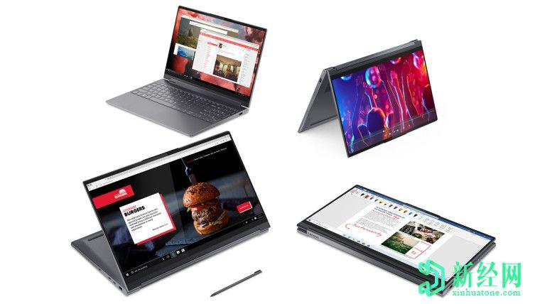联想的新款Yoga 9笔记本电脑配备英特尔Tiger Lake,Xe Graphics和Thunderbolt 4