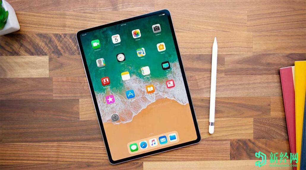苹果iPad Air 4带边框,渲染图与2020 iPad Pro进行了比较