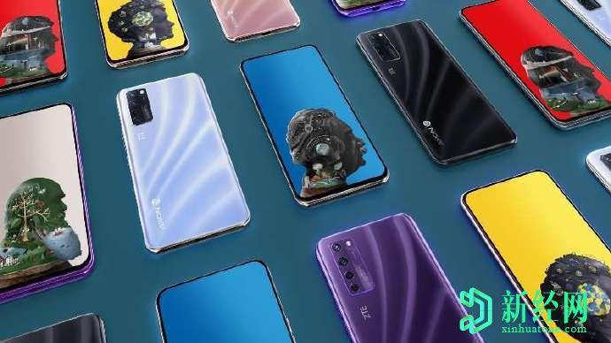 全球首款内置显示屏的拍照手机中兴Axon 20 5G正式发布!