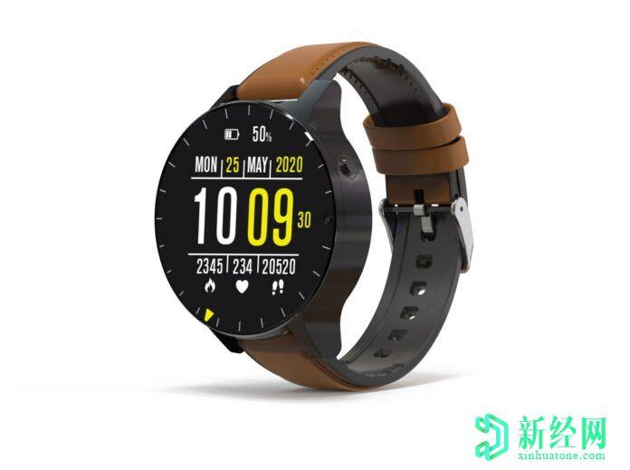 """科技资讯:Rollme推出首款""""无边框""""智能手表"""