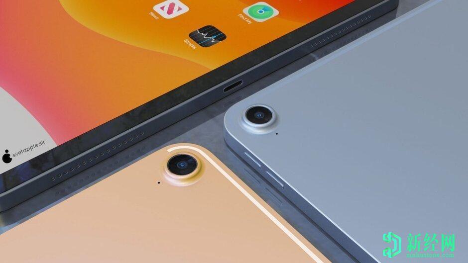 看看采用iPad Pro设计的苹果 iPad Air 4有多漂亮