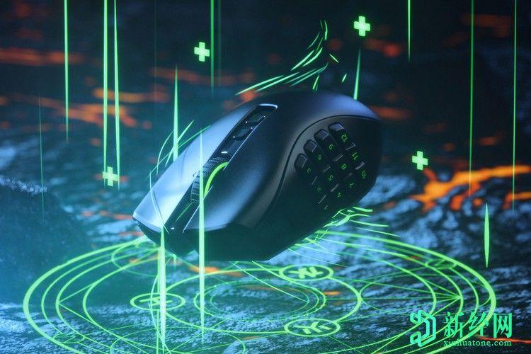 Razer Naga Pro是一款带有许多按钮的可自定义的无线游戏鼠标