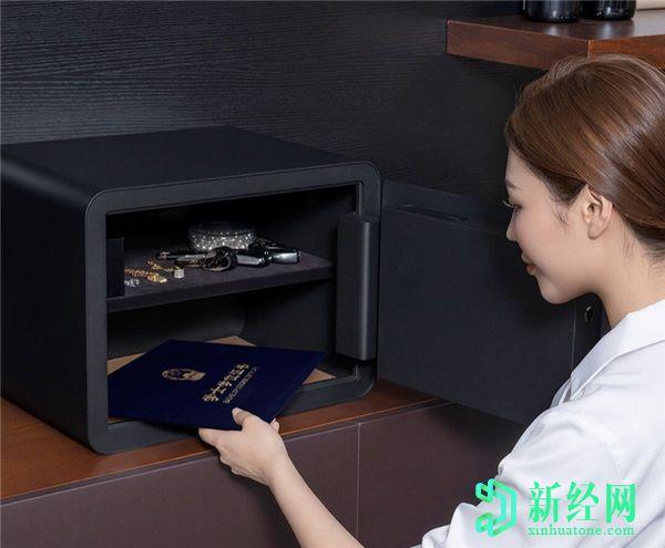 小米在众筹下推出了MIJIA智能保险箱