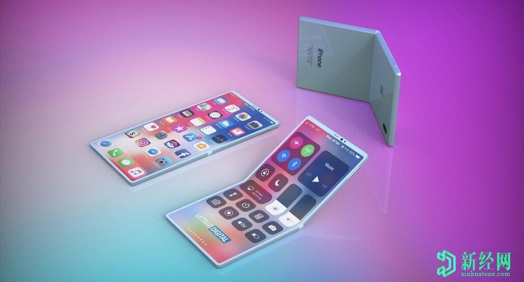 苹果向三星订购新一批可折叠显示器,可折叠iPhone可能在开发中