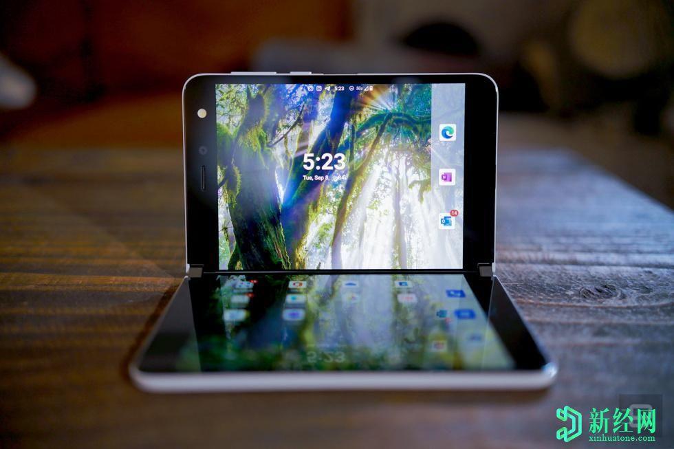 微软Surface Duo评测:令人兴奋的,不稳定的事情