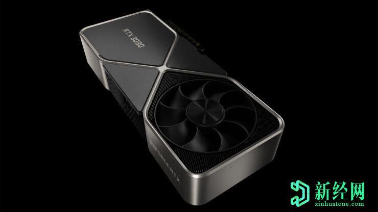 英伟达的GeForce RTX 3090图形卡标准ATX外壳内的三槽巨兽