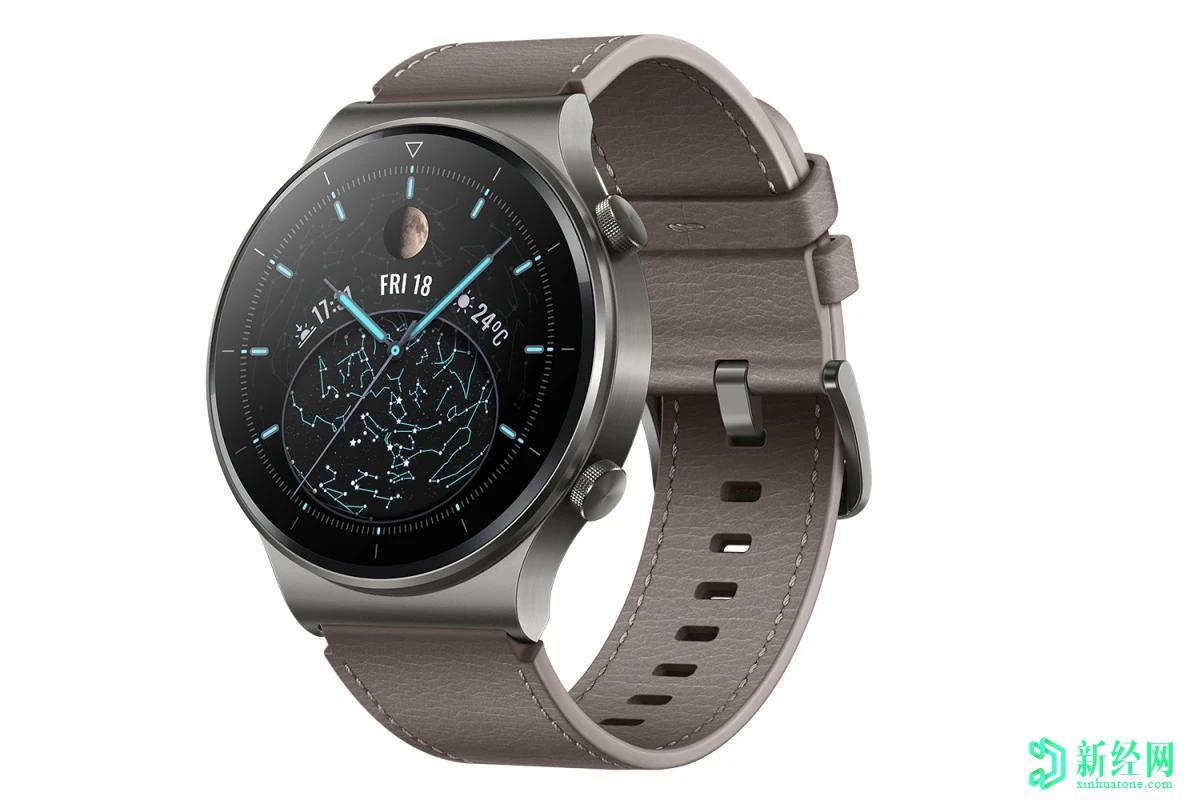华为的新款旗舰智能手表令人眼前一亮