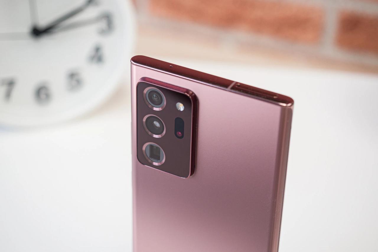 如何在三星Galaxy Note 20 Ultra上禁用5G
