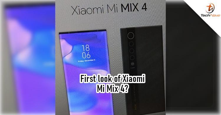 小米Mix4可能会在2021年推出带有显示屏的摄像头