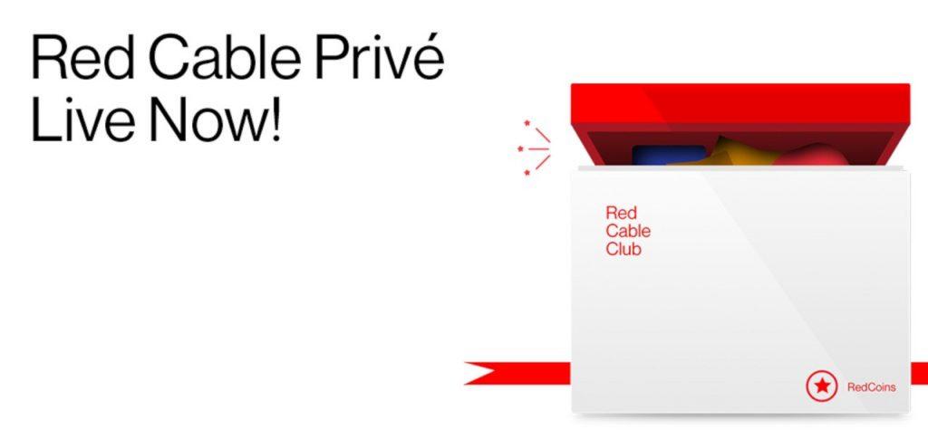 一加宣布Red CablePrivé庆祝200万会员
