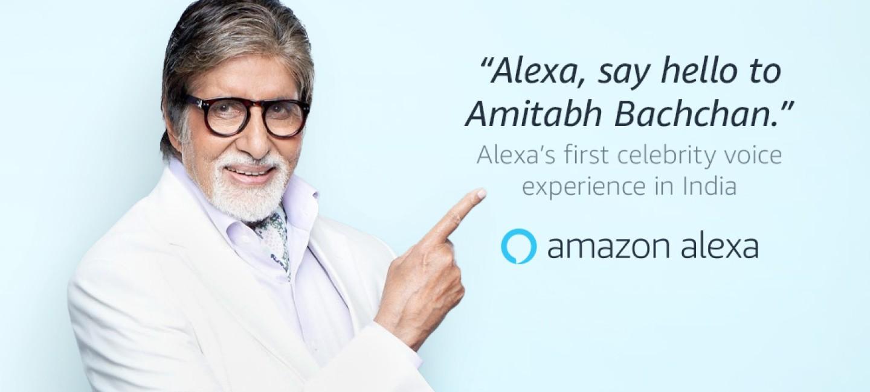 亚马逊与Amitabh Bachchan合作提供新的名人语音体验