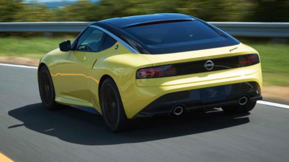日产Z Proto预览采用双涡轮增压V-6,复古现代设计的下一代跑车