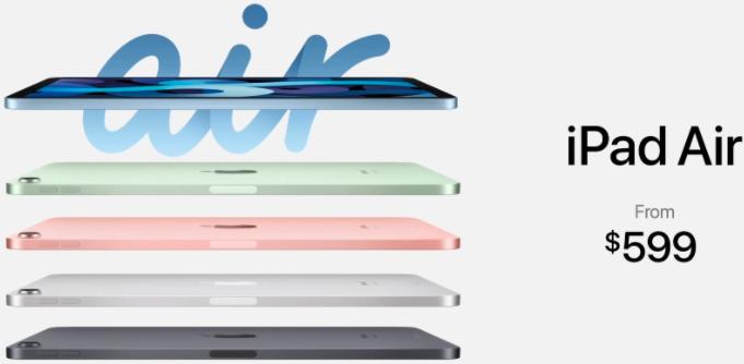 苹果推出了新的iPad Air 4!这是功能和价格