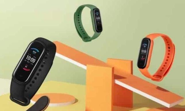 亚马逊推出了Amazfit Band 5:AMOLED显示屏,Alexa支持