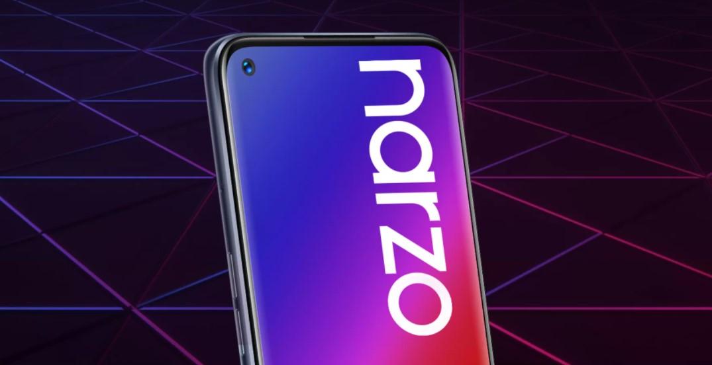印度的Realme Narzo 20、20A和20 Pro价格在发布前就已泄漏