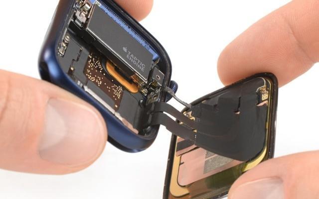 iFixit的Apple Watch Series 6拆解发现更大容量的电池