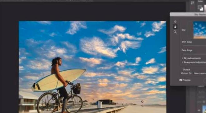Adobe向Photoshop添加了Sky Replacement工具