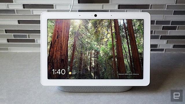 Google助理可以控制Google智能显示器上的Disney +