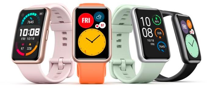 华为手表飞度(Huawei Watch Fit)是华为本月推出的可穿戴产品之一