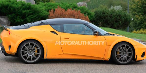 2022年Lotus Esprit的间谍照片