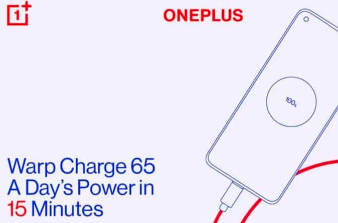 OnePlus 8T支持快速充电功能