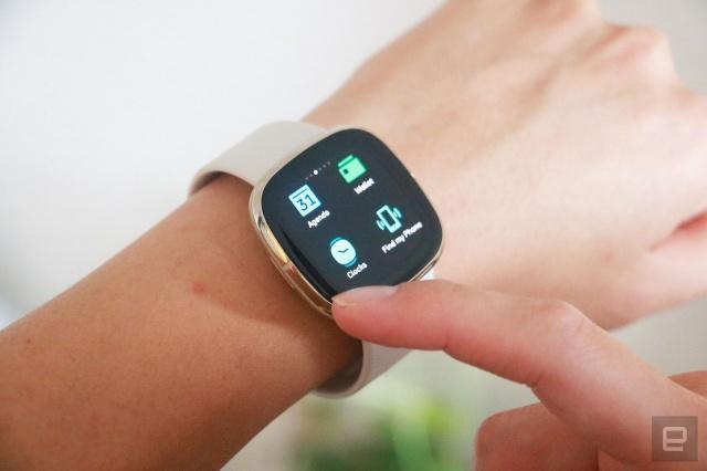 Fitbit Sense和Versa 3的操作系统不会在早期的智能手表中出现