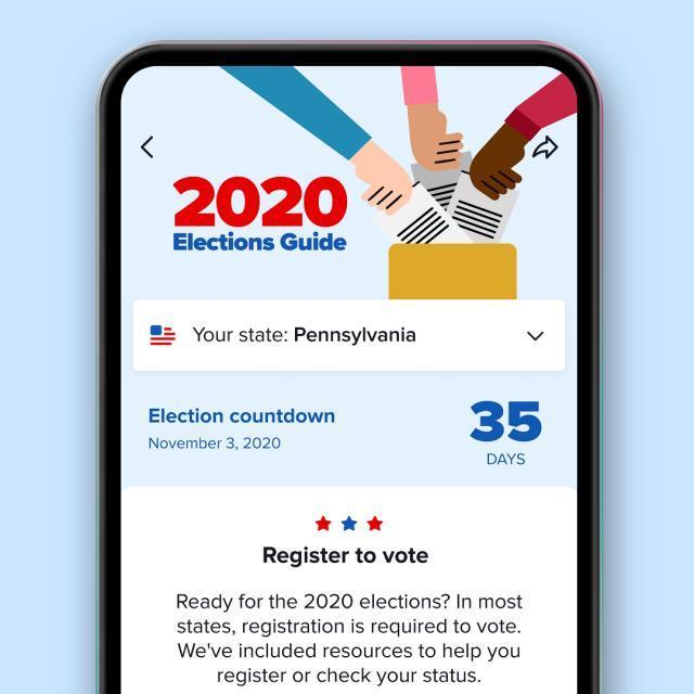 TikTok引入了应用内选举指南以应对错误信息