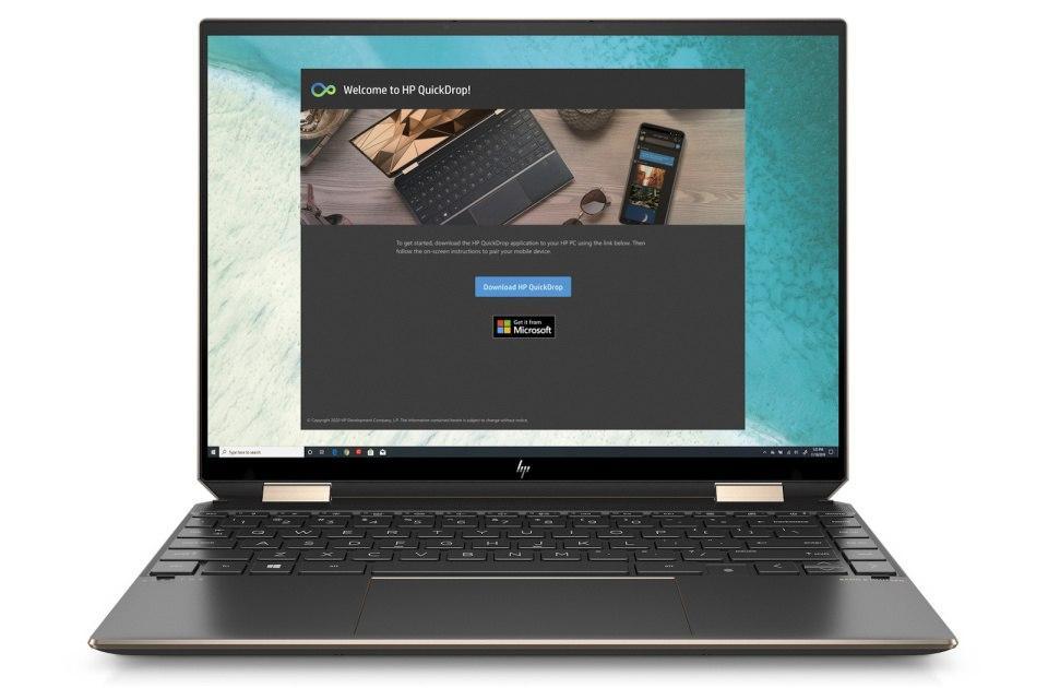惠普新的14英寸Spectre x360 flexible笔记本电脑通过Evo认证