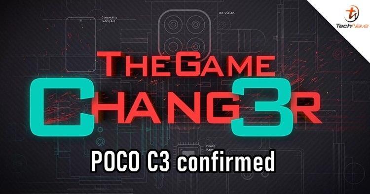 POCO C3即将作为入门级游戏手机亮相