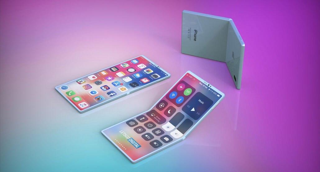 根据新专利,苹果的可折叠iPhone显示屏可能具有自我修复功能
