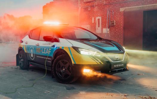 日产Re-Leaf概念车是一款适用于世界末日的电动汽车