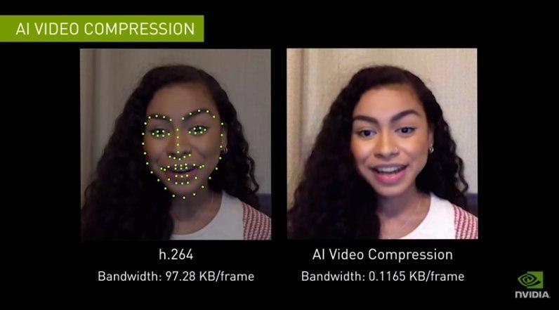 NVIDIA希望通过AI更好的进行视频通话